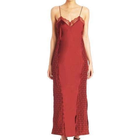 Lucille Satin Slip Dress