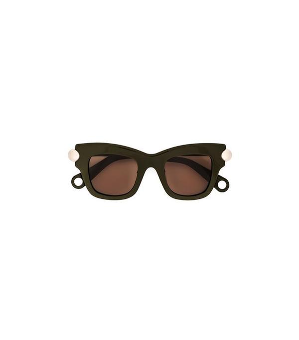 Christopher Kane Bumper Sunglasses