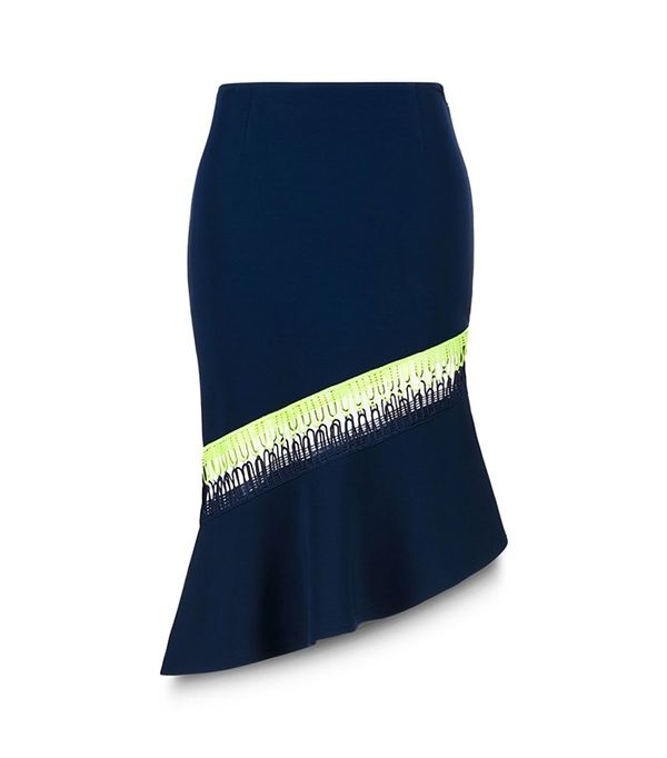 Christopher Kane Asymmetric Skirt with Loop
