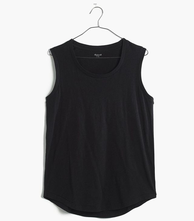 Madewell Whisper Cotton Crewneck Muscle Tee