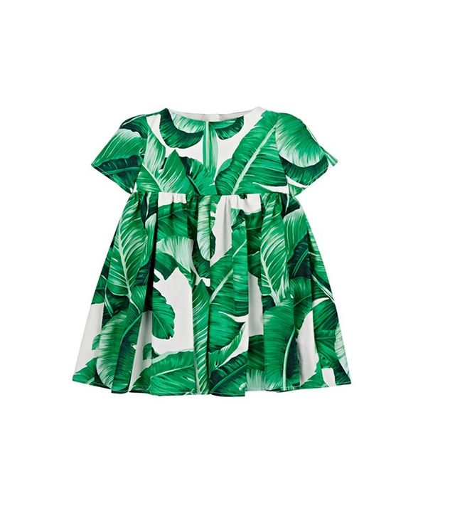 Dolce & Gabanna Printed Dress and Bloomers