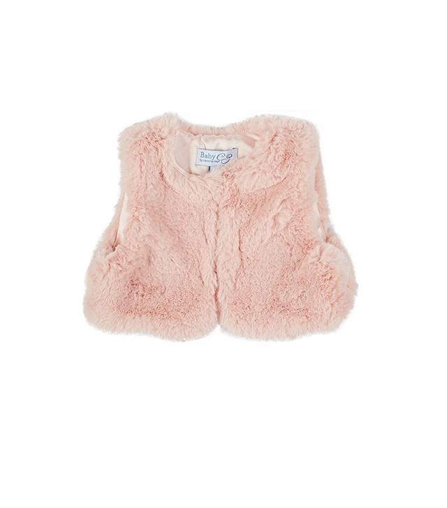 Baby CZ Faux Fur Vest