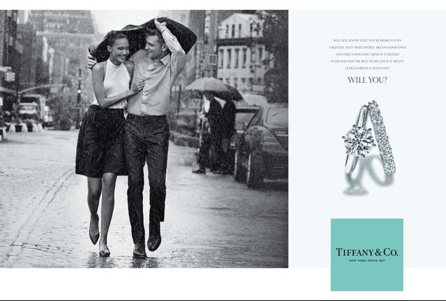 The romantic Tiffany & Co. advertisment style that Grace Coddington changed-up.