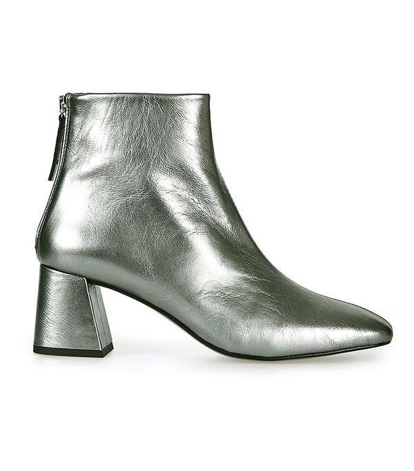 Topshop MAGGIE Flared Heel Boot