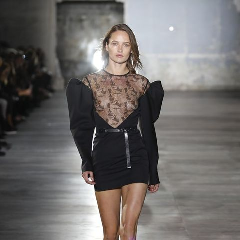 Anthony Vaccarello Just Won for Best Front Row at Saint Laurent