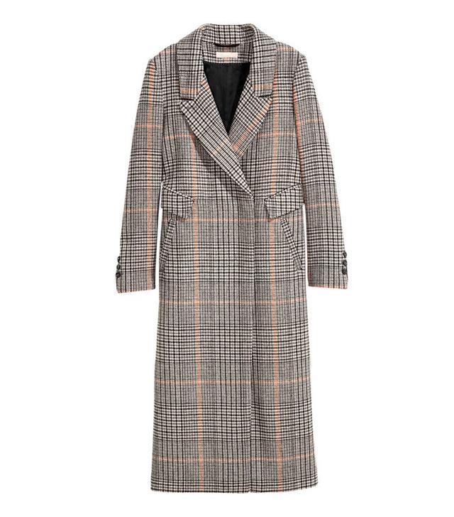H&M Long Wool-blend Coat