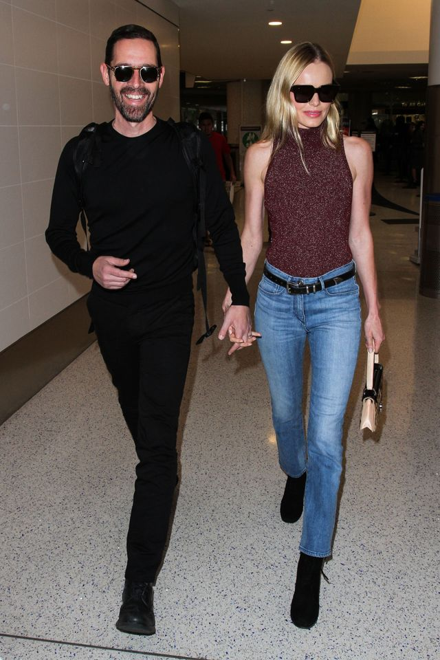 Kate Bosworth wearing jeans airport