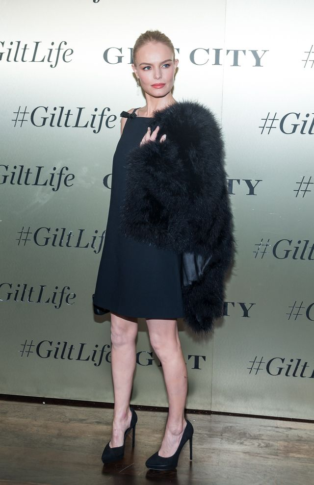 Kate Bosworth Giltlife event black dress