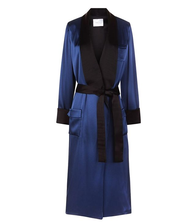 Midnight Andromeda Duster Coat