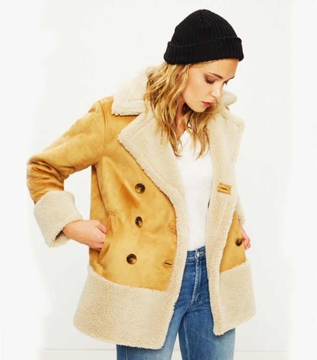Women's Multicolour Shearling