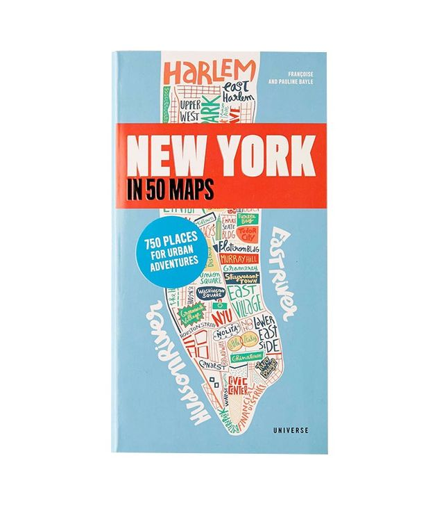 New York in 50 Maps by Gaspard Walter