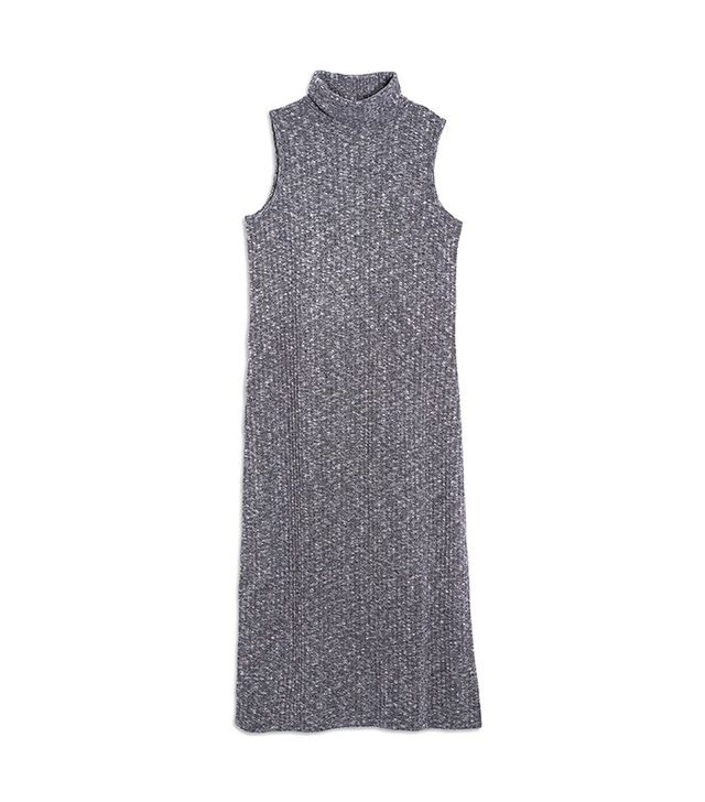 Who What Wear Sleeveless Turtleneck Dress