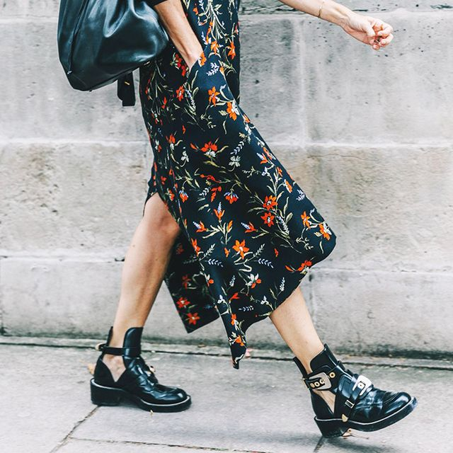 The Freshest Way to Wear Florals This Fall