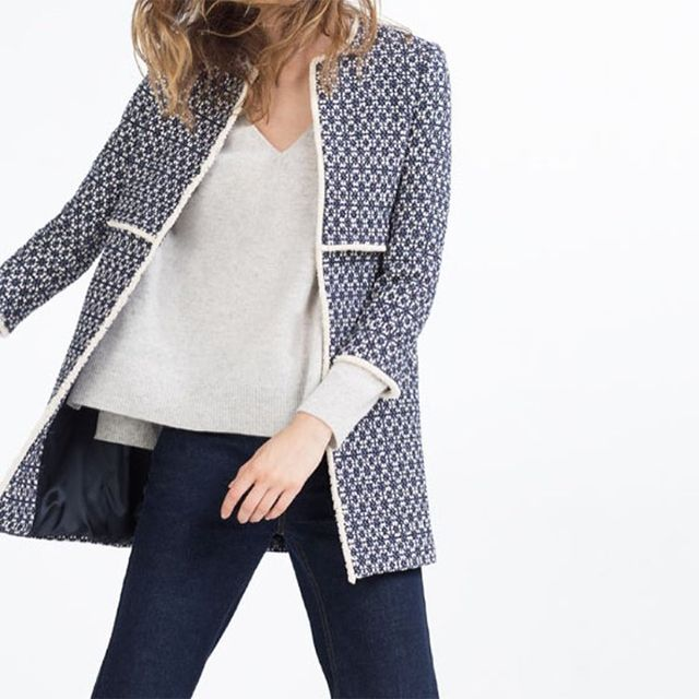 This Zara Coat Is So Famous It Has Its Own Instagram Account
