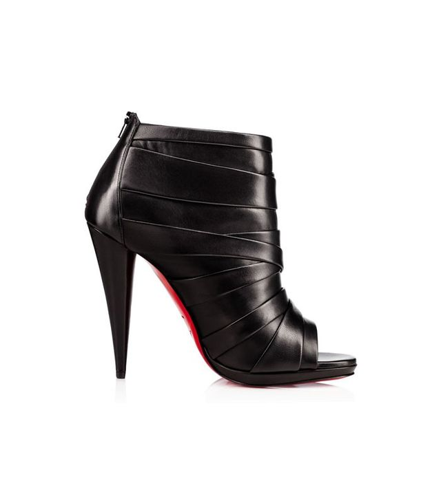Christian Louboutin Drapicone Booties