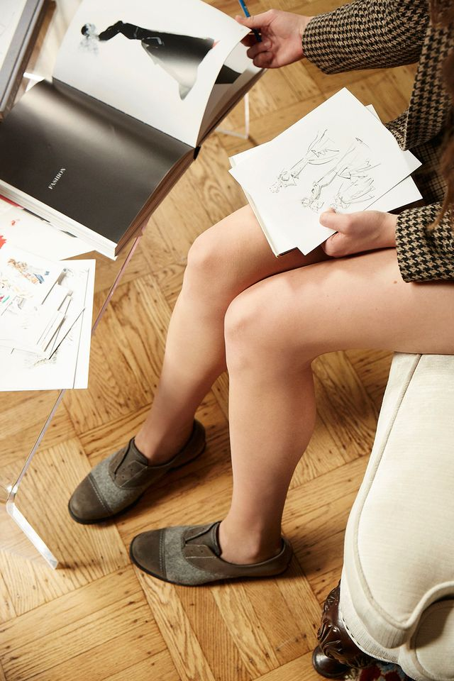"""Pictured:SORELMajor Oxford Shoe($130) """"I've always loved illustration, but I think the first time I realized it could be more than a hobby was when my friend asked me..."""