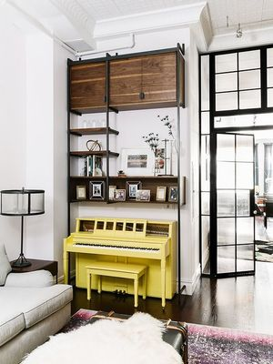 Home Tour: A Hip Couple's Downtown NYC Loft
