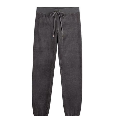 Velour Track Pants