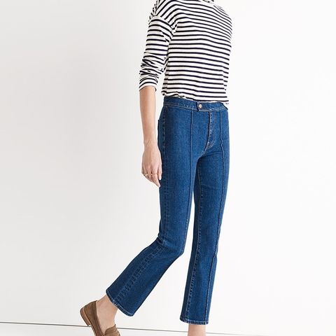 Rivet & Thread Pintuck Demi-Boot Jeans