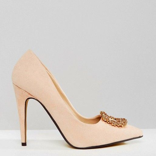 True Decadence Embellished Court Shoes