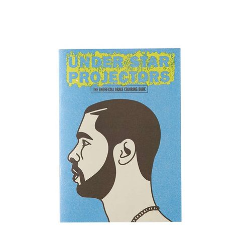 Under Star Projectors: The Drake Coloring Book By Sugoi Books