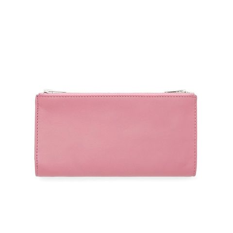 Leather Double-Zip Wallet