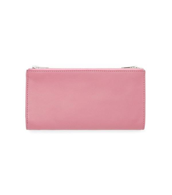 COS Leather Double-Zip Wallet