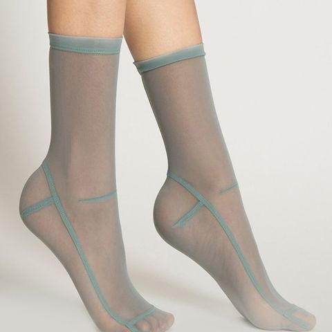 Socks in Powder Blue