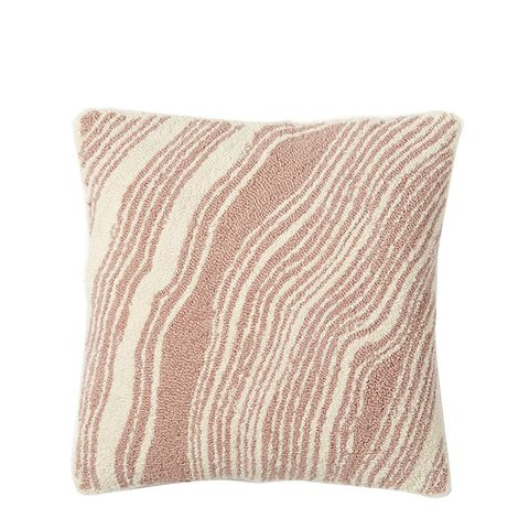 Looped Marble Pillow Cover