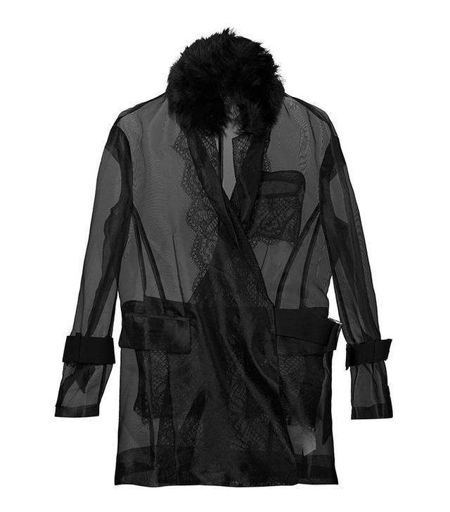 Sacai Transparent Belted Jacket