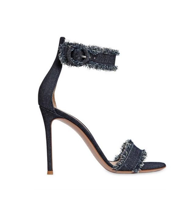 Gianvito Rosi Cotton Denim sandals