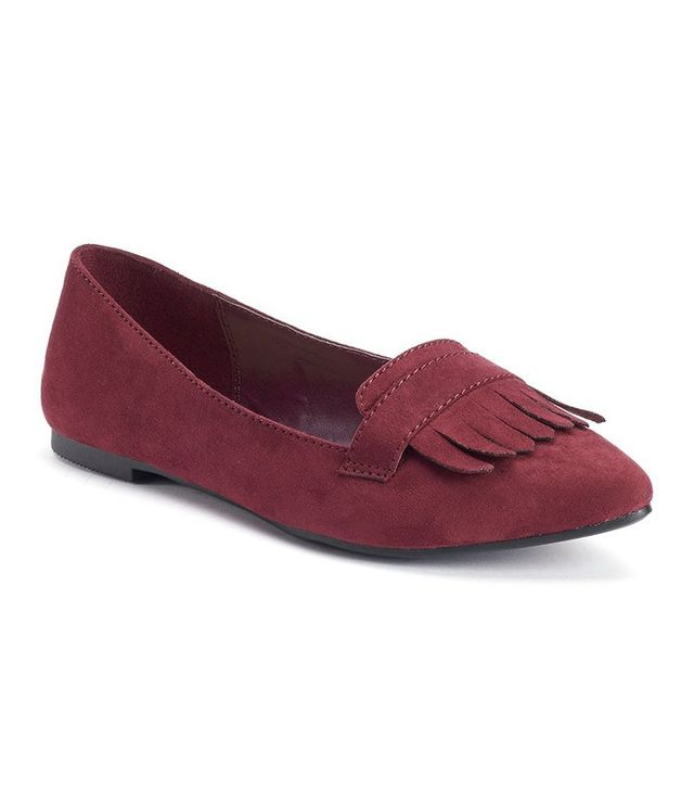 LC Lauren Conrad Pointy Toe Loafers
