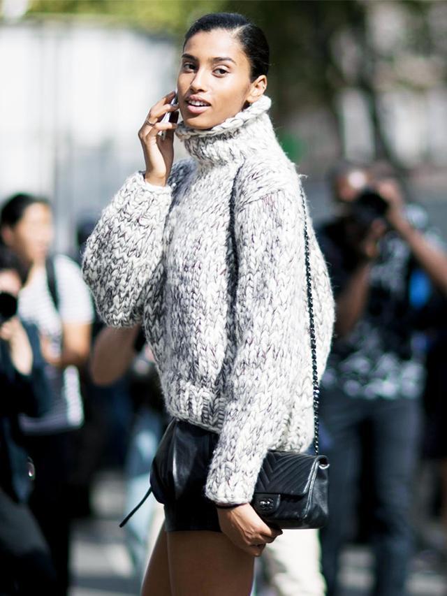 Oversize Sweater + Shorts