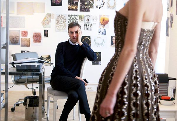 Dior and I (2014) The film traces how Raf Simons created his first haute couture collection in just eight weeks when he was appointed as the fashion house's new artistic director.