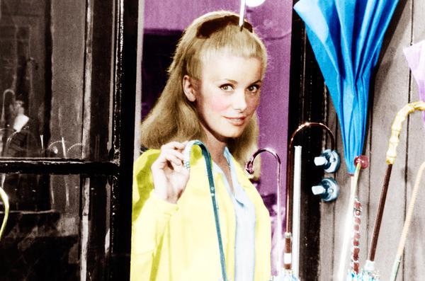 The Movie:The Umbrellas of Cherbourg (Les Parapluies de Cherbourg) (1964) Set to Michel Legrand's over-the-top score, Jacques Demy's colorful Palme d'Or winner was Catherine Deneuve's...