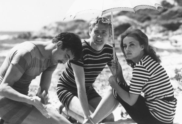The Movie:Jules and Jim (Jules et Jim) (1962) Jeanne Moreau wore a lot of her own clothes in the filming if François Truffaut's New Wave masterpiece. Her character Catherine's...