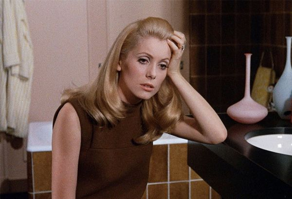 The Movie: Beauty of the Day(Belle de Jour) (1967) In Luis Buñuel's provocative drama, Catherine Deneuve donned costumes designed by Yves Saint Laurent, who used opposing variations...