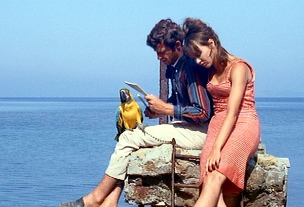 The Movie: Pierrot le Fou (1965) Godard's French Rivieraclassic is highly saturated with bright colors, includingAnna Karina's character Marianne's wardrobe, which is composed of...