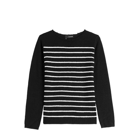 Wool-Cashmere Striped Sweater