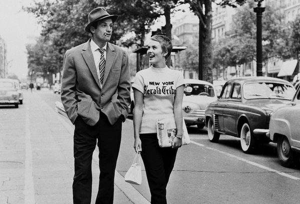 The Movie: Breathless (À Bout de Souffle) (1960) Jean Seberg became the epitome of gamine fashion as the stylish expat Patricia in Jean-Luc Godard's first feature-length work. Sporting a...