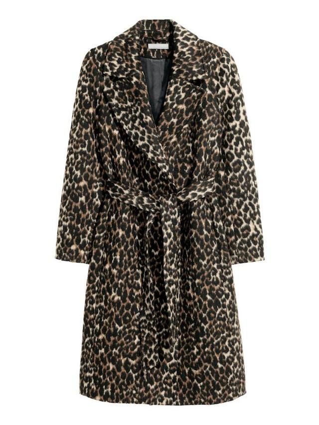 H&M Conscious Wool-Blend Coat