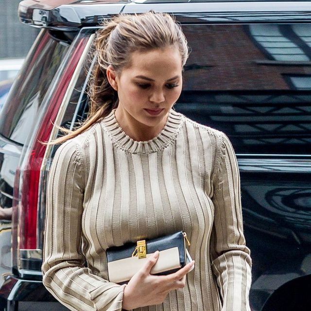 Chrissy Teigen Wore the Fall Look You're About to See Everywhere