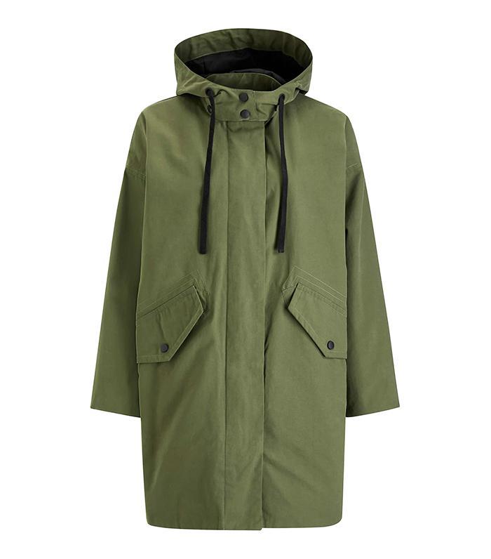 Kin Parka Coat, Khaki