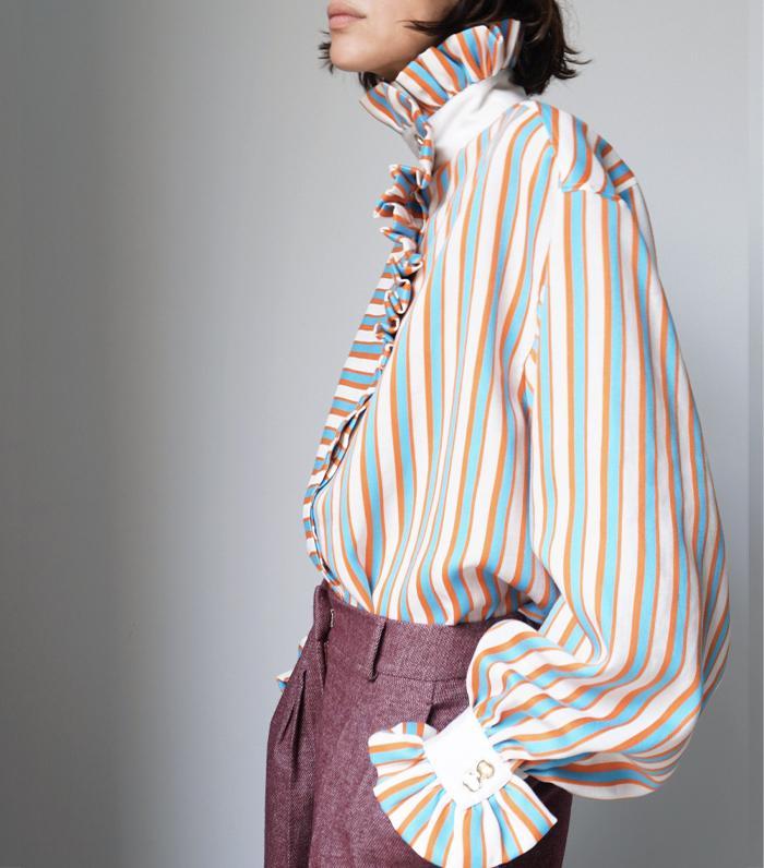 The Label Edition Ezra Shirt Stripes