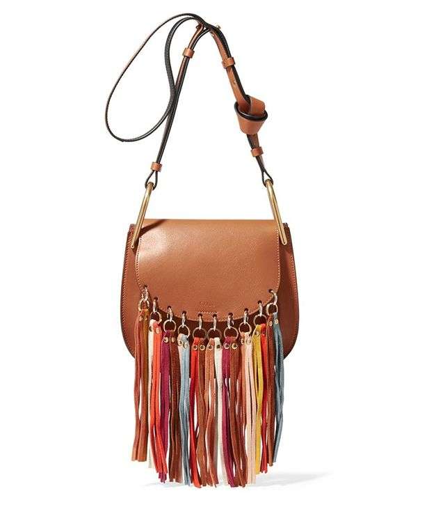 Chloé Hudson Tasseled Bag