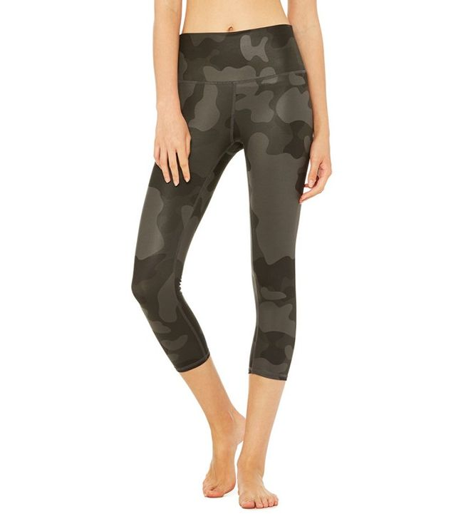 Alo High-Waist Airbrush Capri Leggings
