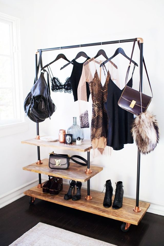 closet clothing rack