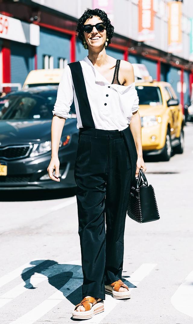 Ysamin Sewell pants street style