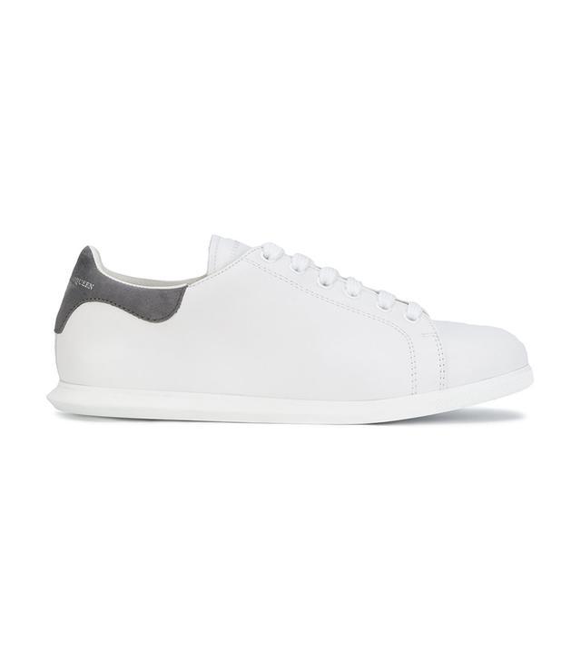contrasting heel counter sneakers