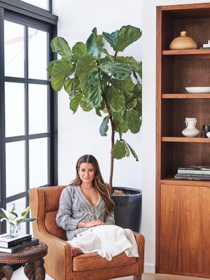 Lea Michele's Airy L.A. Home Is a California Dream